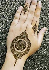 Mehndi simple designs for fingers