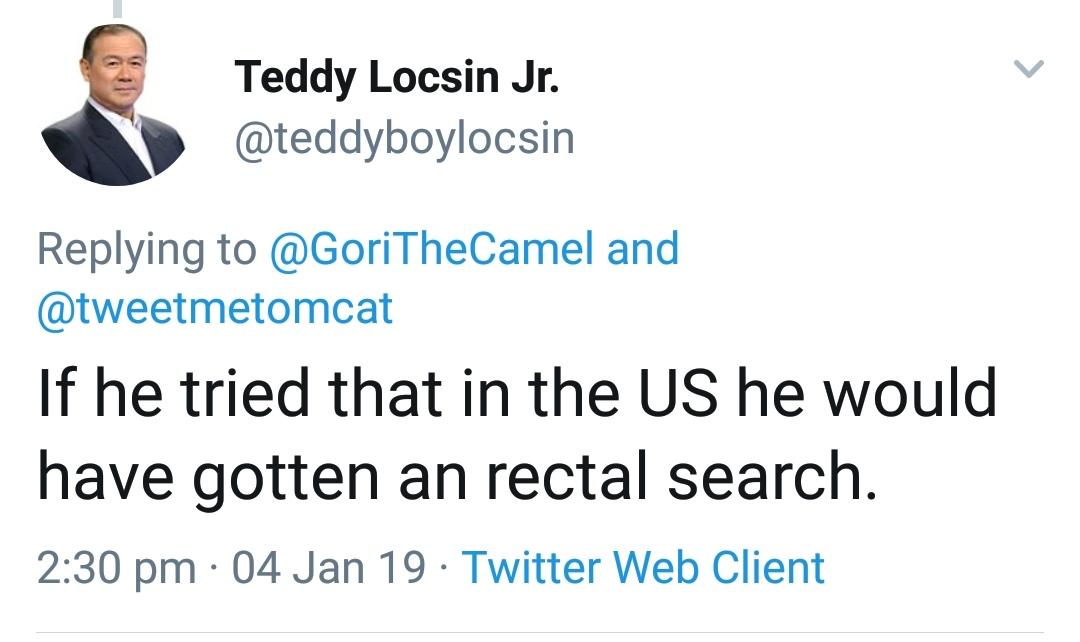 "DFA chief on Tony Labrusca: ""Deport him"""