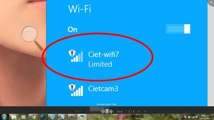 Langkah Mudah Atasi Wifi Limited Dengan Winsock