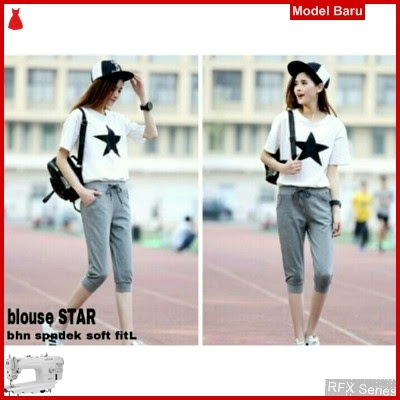 RFX210 MODEL STAR BLOUSE HALUS FITL BMG SHOP MURAH ONLINE