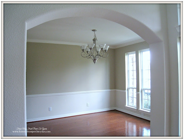 French Country Farmhouse Transformation-Before