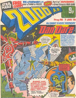 2000 AD #46, Dan Dare