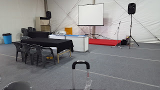 Magic show setup IROS 2016