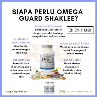 siapa perlu omega guard shaklee