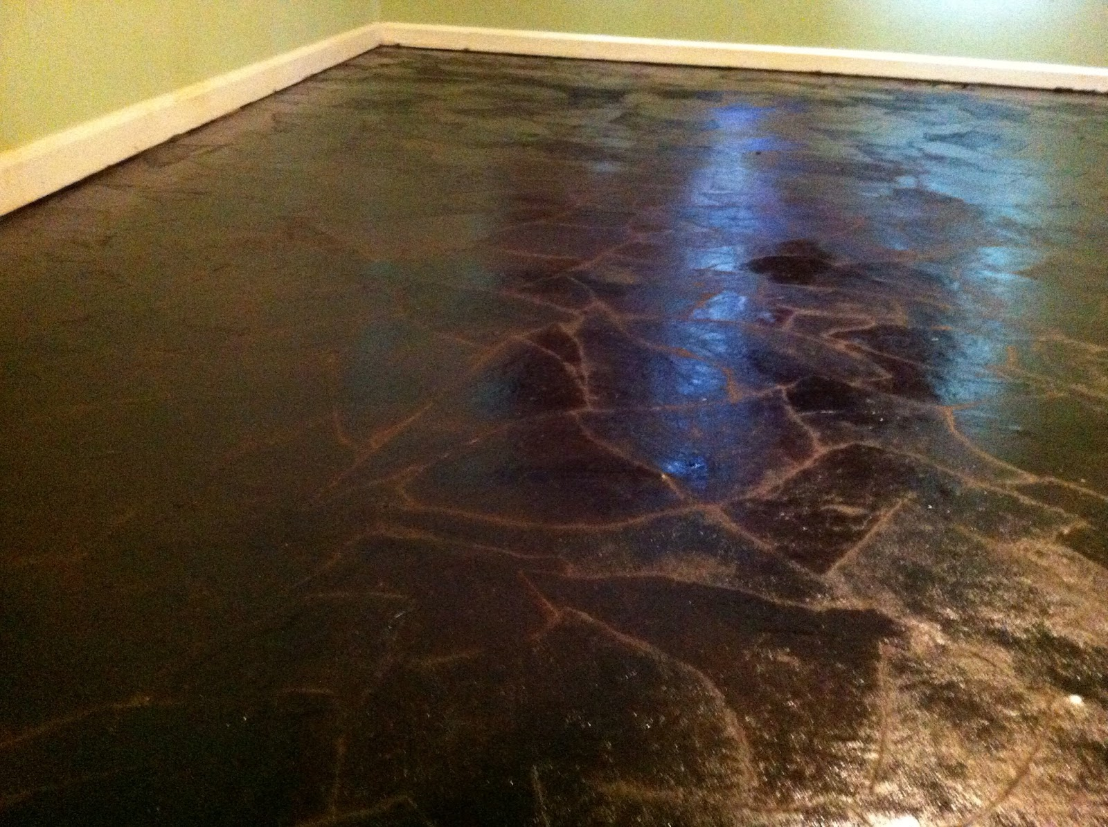 Painting Life Red Amp Black Brown Paper Flooring