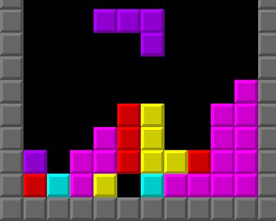 Arcade Game Examples Tetris