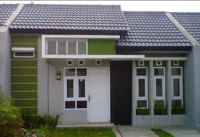 desain rumah indonesia desain rumah model persegi panjang
