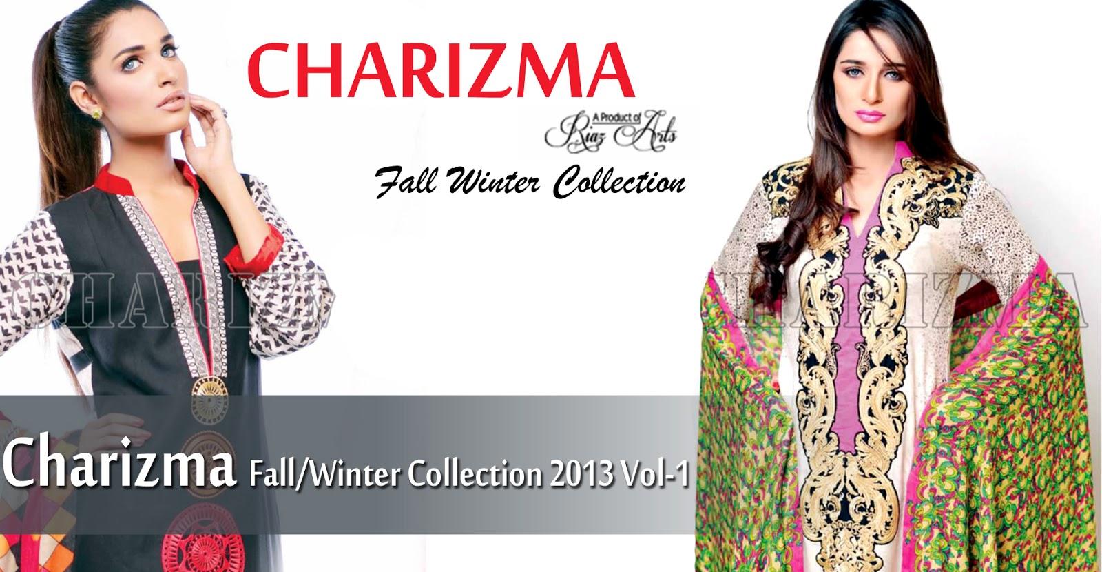 Latest Pakistani Fashion  Charizma Fall Winter Collection 2013-14 ... 618fbacf6117a