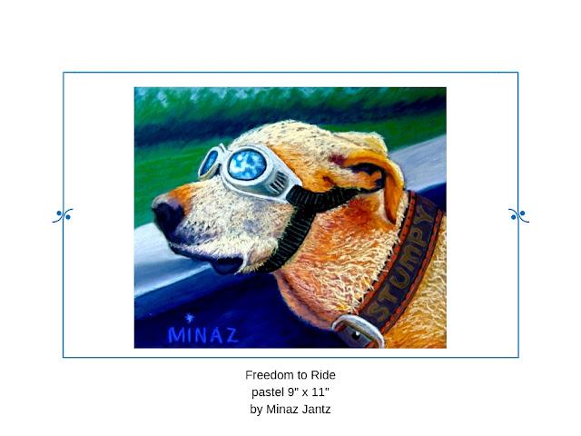 Freedom To Ride by Minaz Jantz