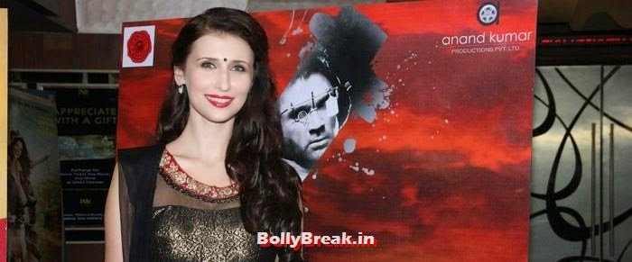 Claudia Ciesla, Sasha Agah, Tia Bajpai Pics from 'Desi Kattey' Trailer Launch