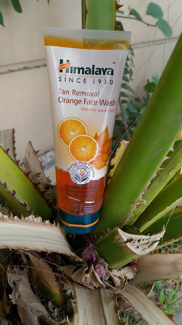 Himalaya Tan Removal Orange Face Wash Review
