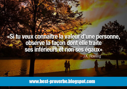 proverbe Citations, Respect,