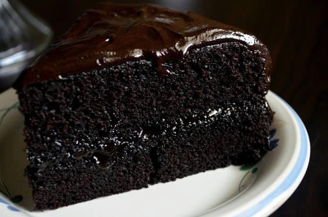 how to cook fudge cake