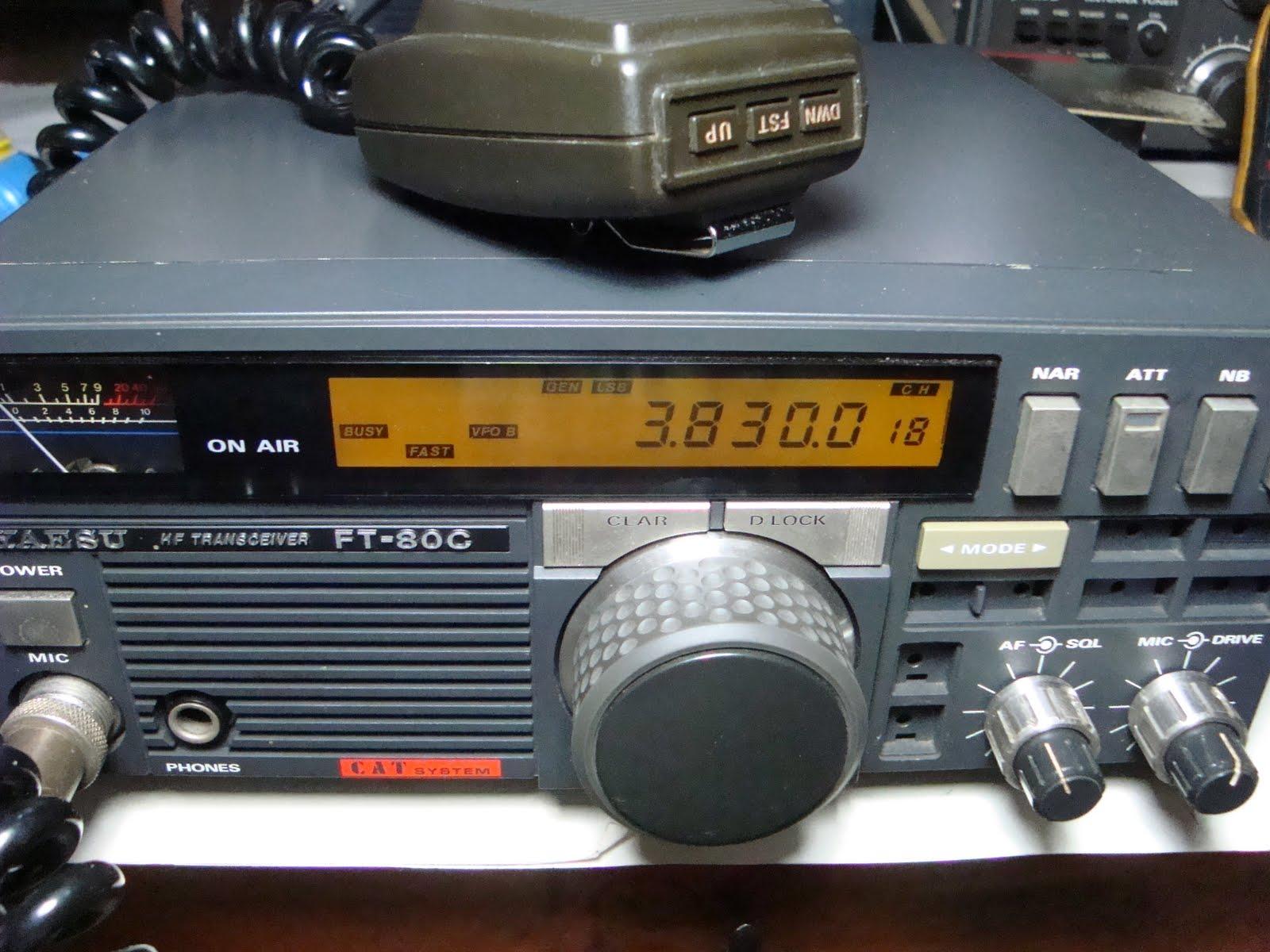 radio seller ft 80c hf transceiver 200 watt sold. Black Bedroom Furniture Sets. Home Design Ideas