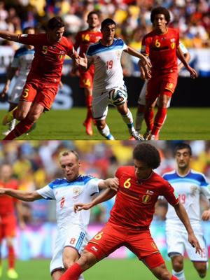 ベルギー対ロシア