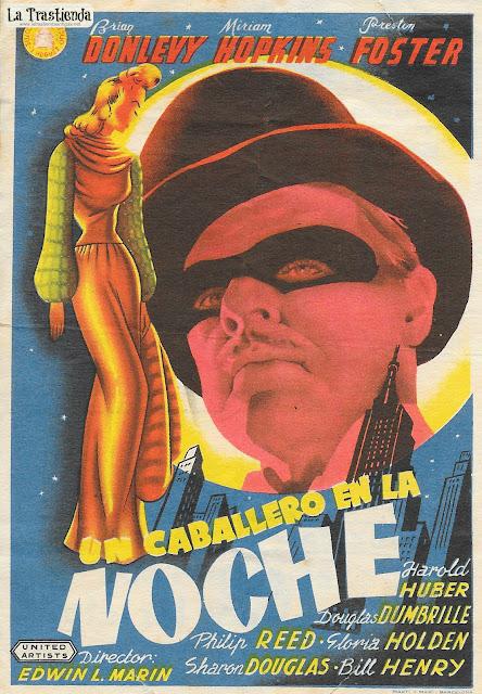 Un Caballero en la Noche - Programa de Cine - Brian Donlevy - Miriam Hopkins
