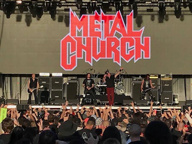 Το συγκρότημα Metal Church