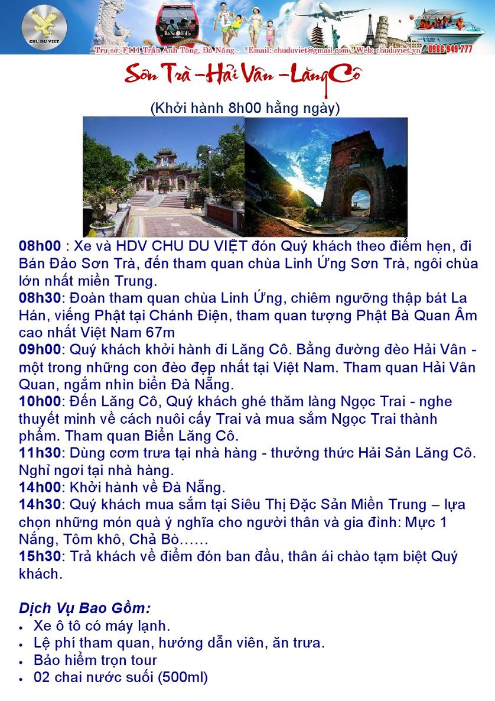 Sơn Trà - Hải Vân - Lăng Cô