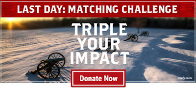 It's the Last Day to Triple Your Impact!