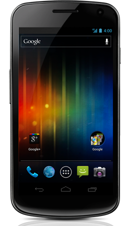 Google Galaxy Nexus - Now available in Canada