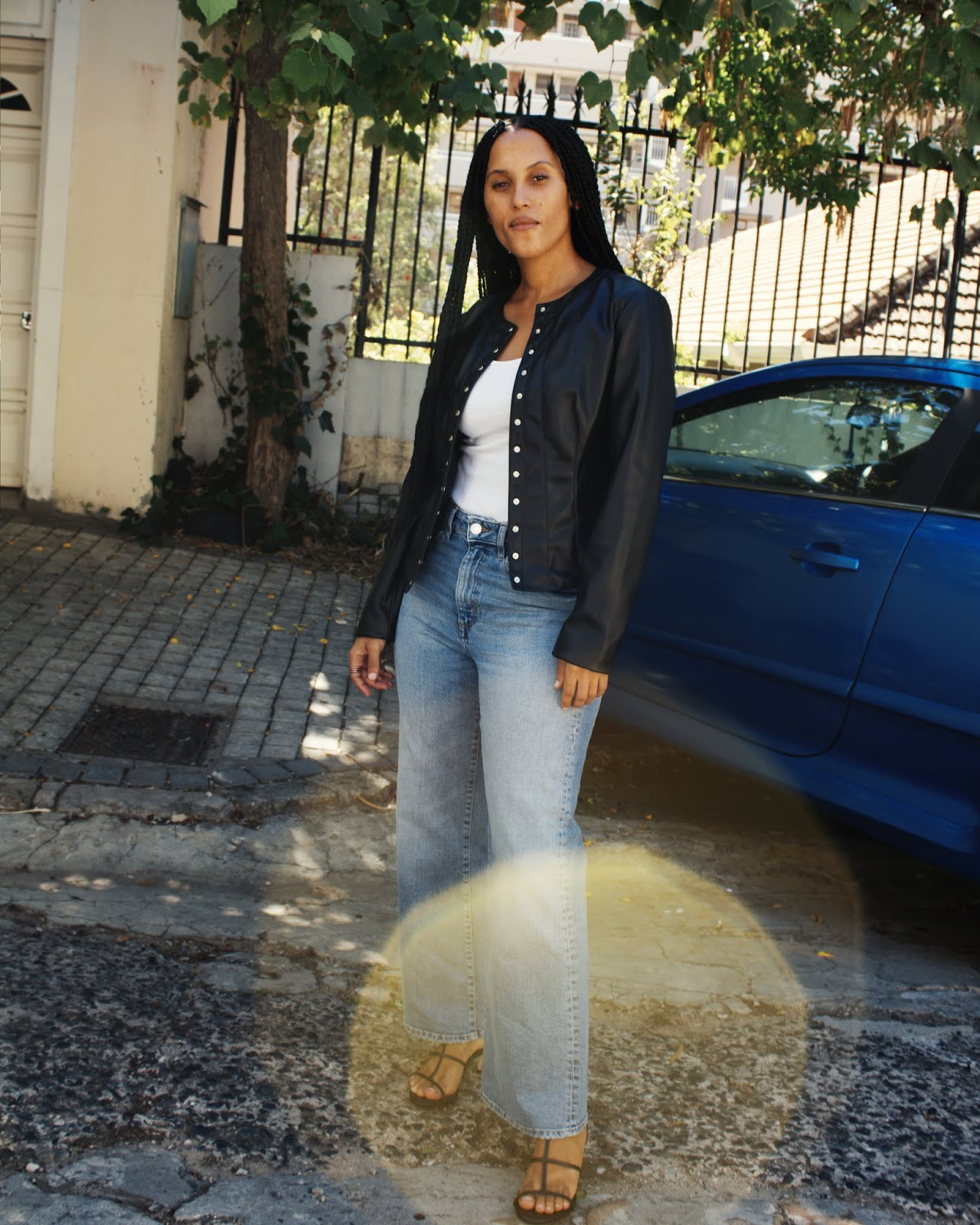 Liezel-Esquire-how-to-wear-faux-leather-jacket