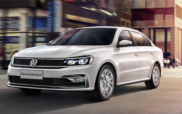 Volkswagen Lavida - vendas em alta