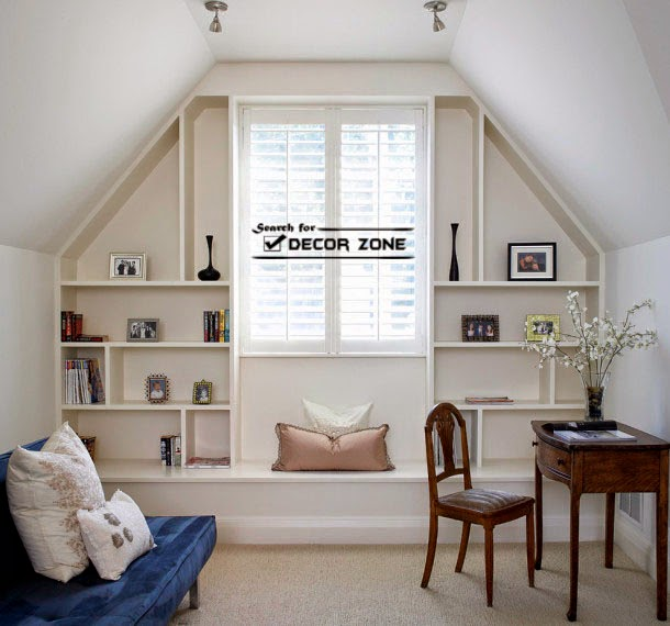 Bookcase Around Bed: Bedroom Shelves: How And Where To Install Shelves In The
