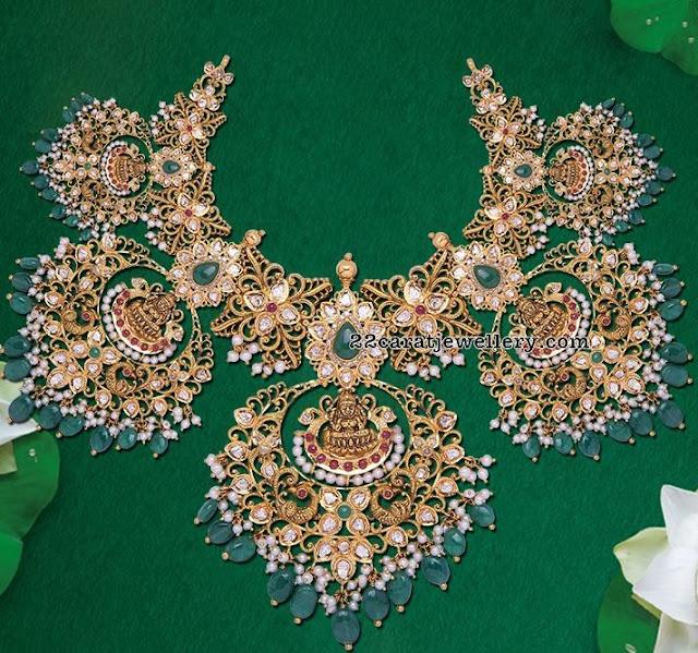 Lakshmi Chandbali Bridal Choker