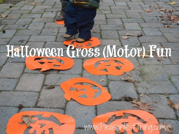 Halloween Gross Motor Fun