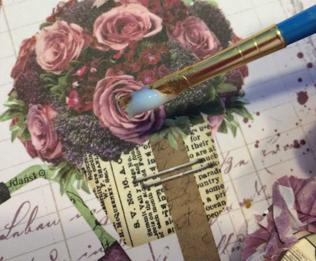 Best Friends Layout Tutorial using Transparent Gel and Beautiful Dreamer by Lynn Shokoples for BoBunny