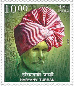 "c6078de14f6 ... consisting of all the 16 Stamps issued on Headgear of India. Haryanvi  Turban  The Haryanvi Turban is called ""Khindka"" in the Haryanvi language  and is a ..."