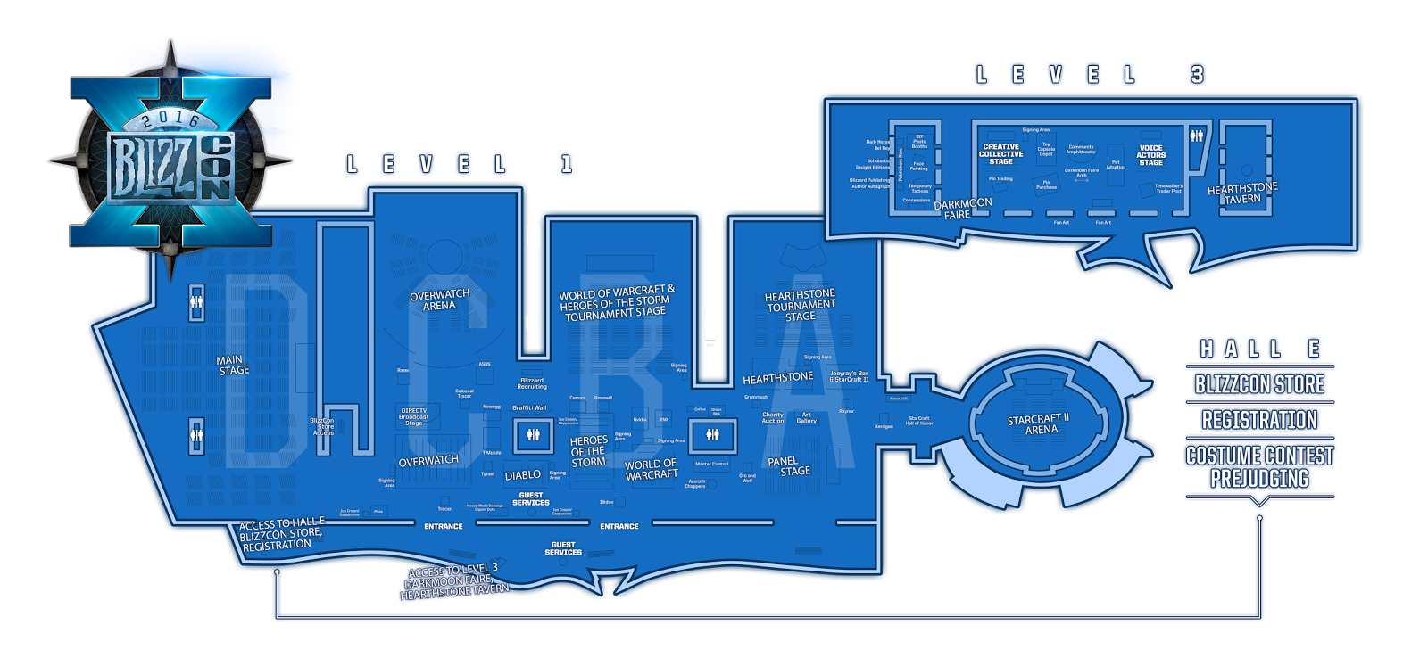 one of the complaints leading up to blizzcon 2015 was how small the diablo area was where it was shoved off into the back corner and represented as being