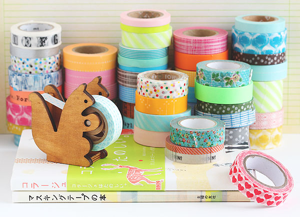 Washi Tape, cintas decoradas, manualidades, técnicas