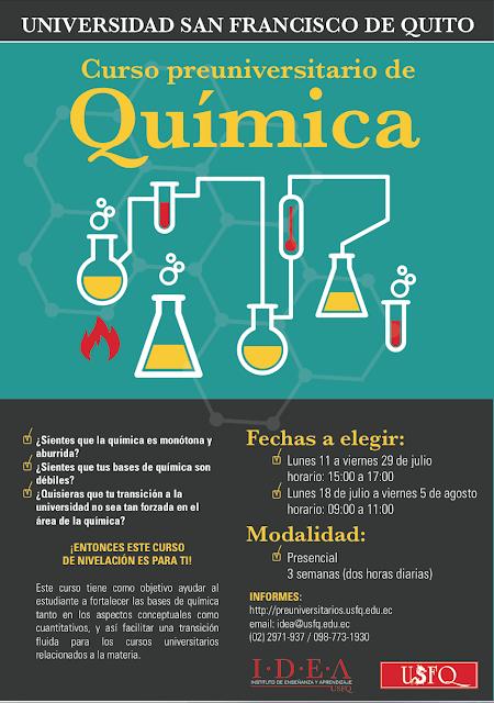 Curso preuniversitario: Química