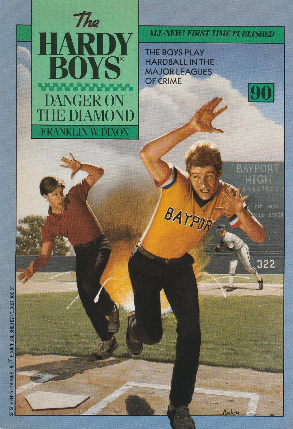 The Hardy Boys: Danger on Vampire Trail 50 by Franklin W. Dixon (CS-K)