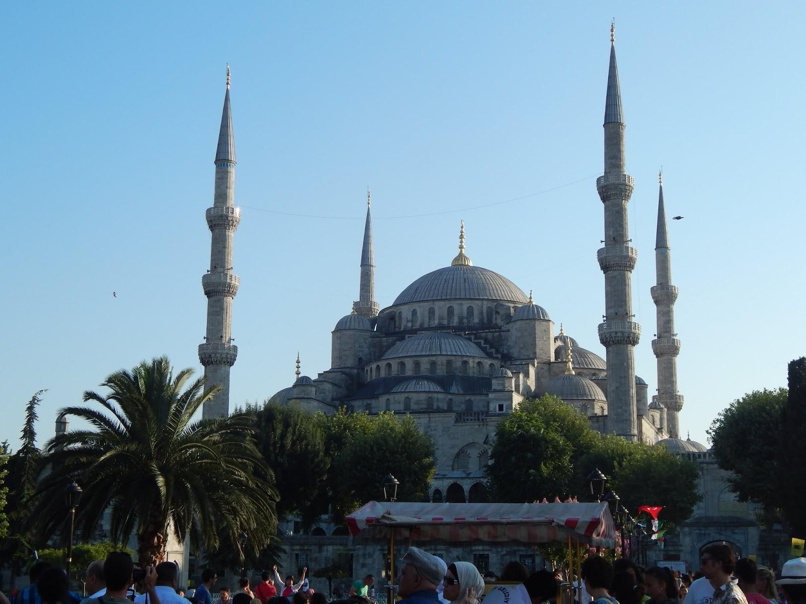 Suleymanova mešita v Istanbulu
