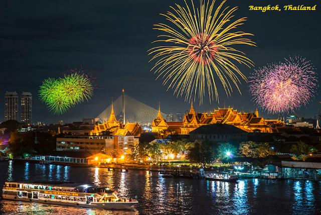 Bangkok on New Year's Eve