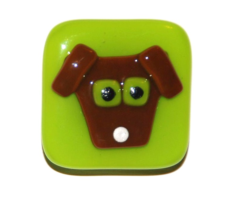 Omega Glass: Fused Glass Art that's Ridiculously Cool: Dog ...