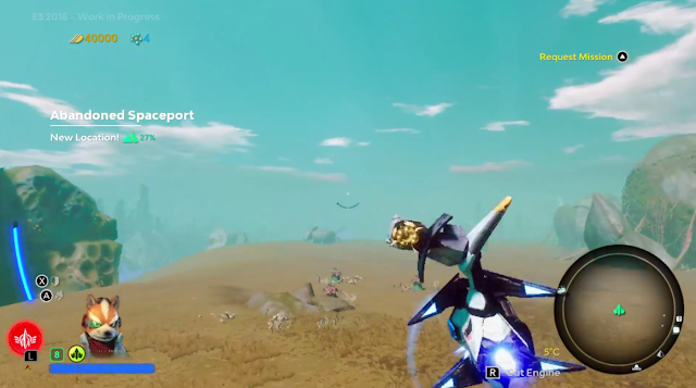 Starlink Battle for Atlas Arwing barrel roll Star Fox