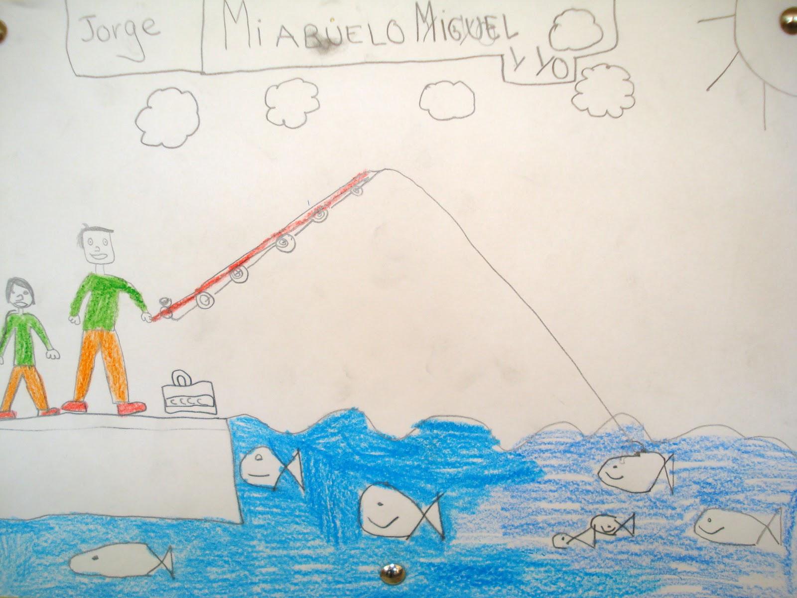 Clasedereli Niños Del Mundo: Clasedereli: Pintando A Mi Abuelo