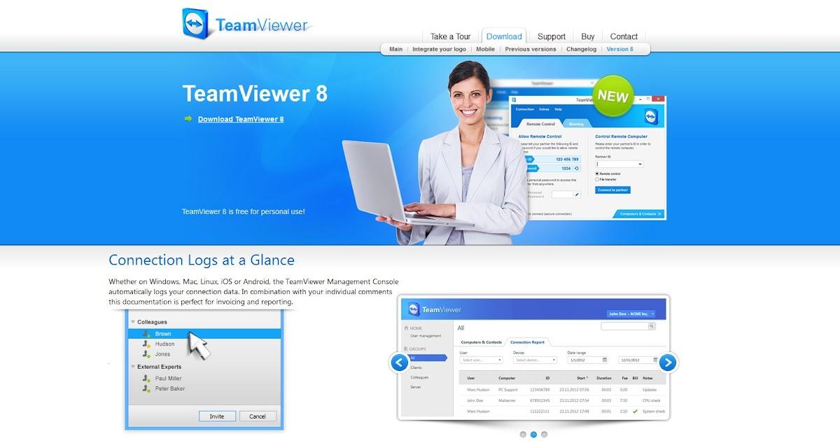 TeamViewer 8 Crack Free Download | Brafteo Jepara