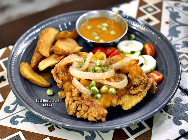 Luckin Kopi Petaling Street Menu - Hainanese Chicken Chop
