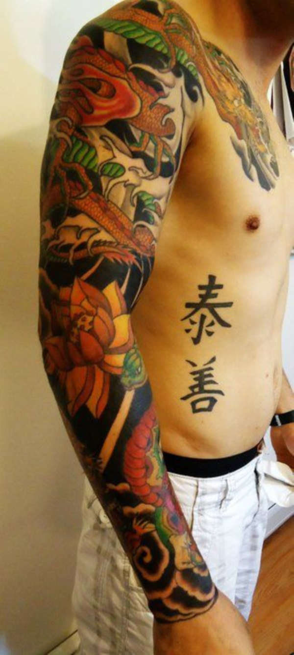Japanese Sleeve Tattoos for Mens and Womens - Fashion Hippoo Japanese Sleeve Tattoos For Women