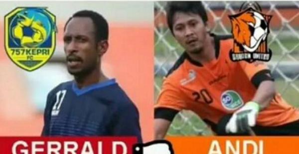 Video Aksi Brutal Gerald Pangkali Menendang Kepala Defri Rizki yang Sedang Terkapar