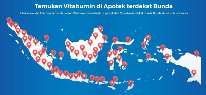 Vitabumin Apotek Maps