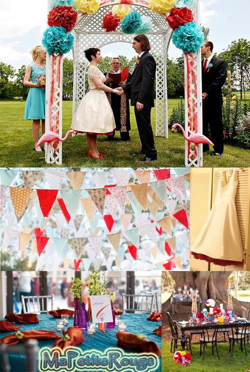 couleurs pour mariage