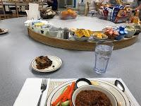 Mesa del comedor con la famosa penca