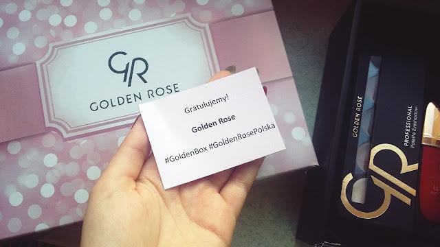 Prezentacja nowości z wygranego pudełka Golden Rose! GOLDEN BOX