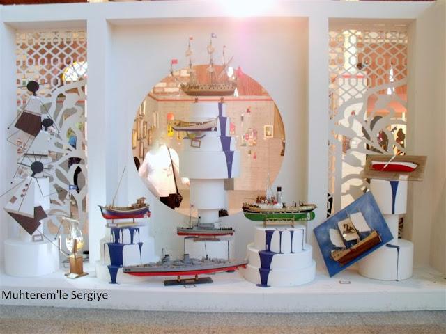model gemi sergisi