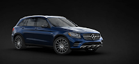 Mercedes AMG GLC 43 4MATIC 2019 màu Xanh Cavansite 890